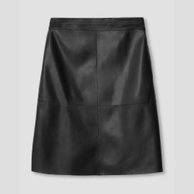 skirts leatherette nav