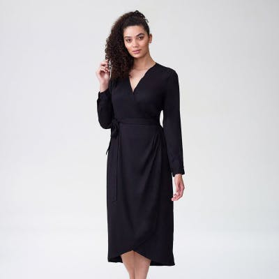 wrap dress nav