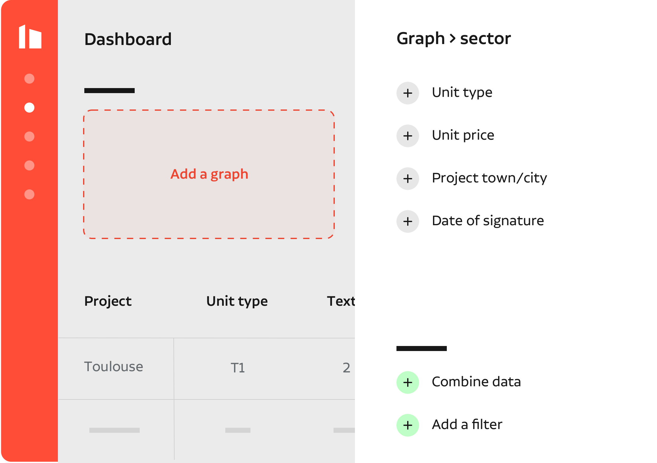 Configure sus propias tablas