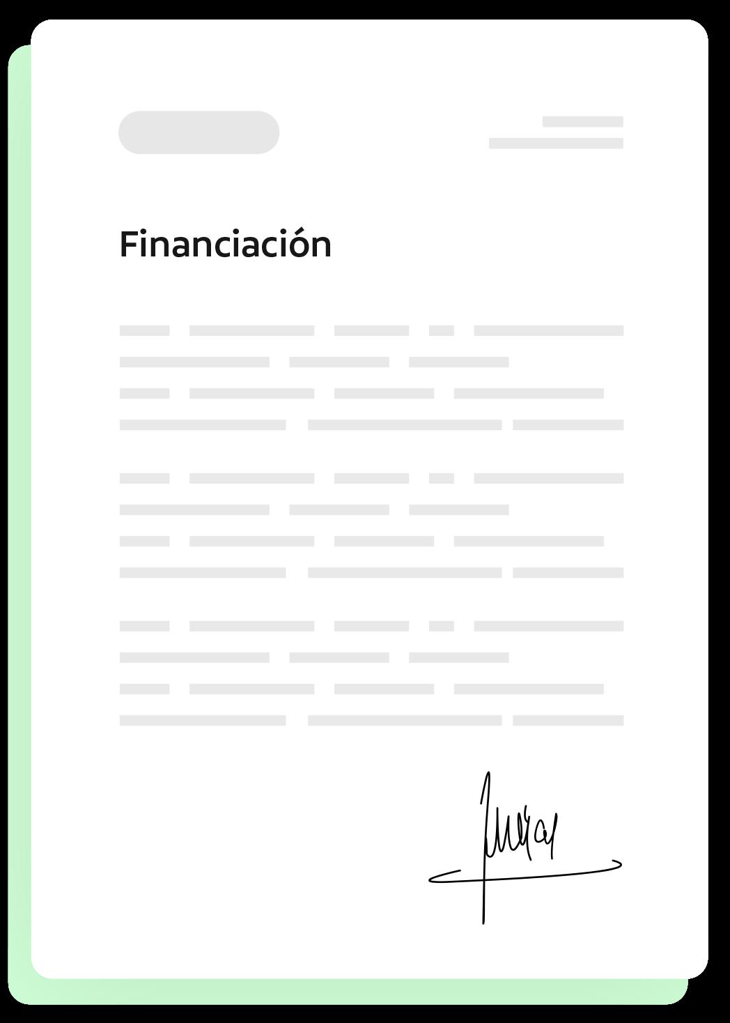 Solicitud de fondos