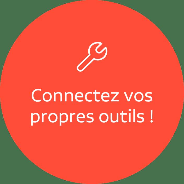 Connectez notre CRM à vos outils
