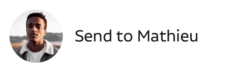 send to mathieu