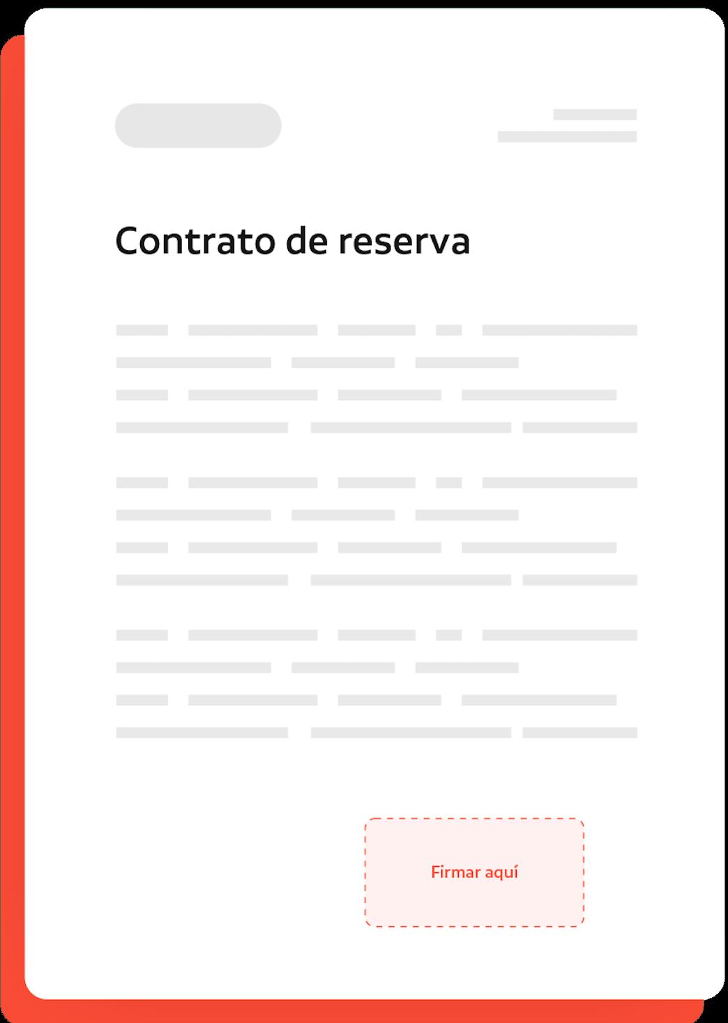 contrato de reserva