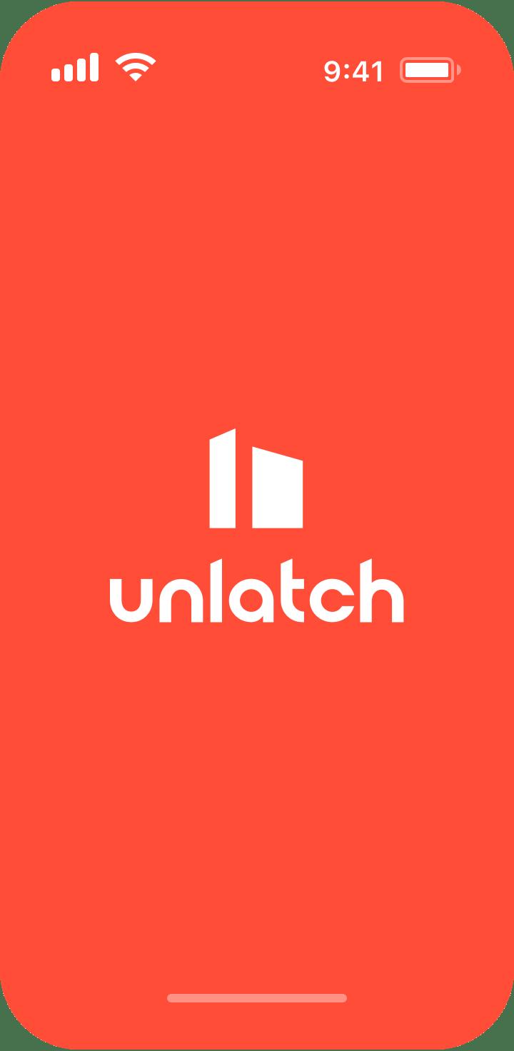 Application mobile unlatch