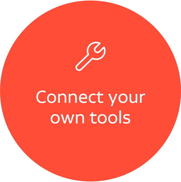 Connect our CRM to your tools
