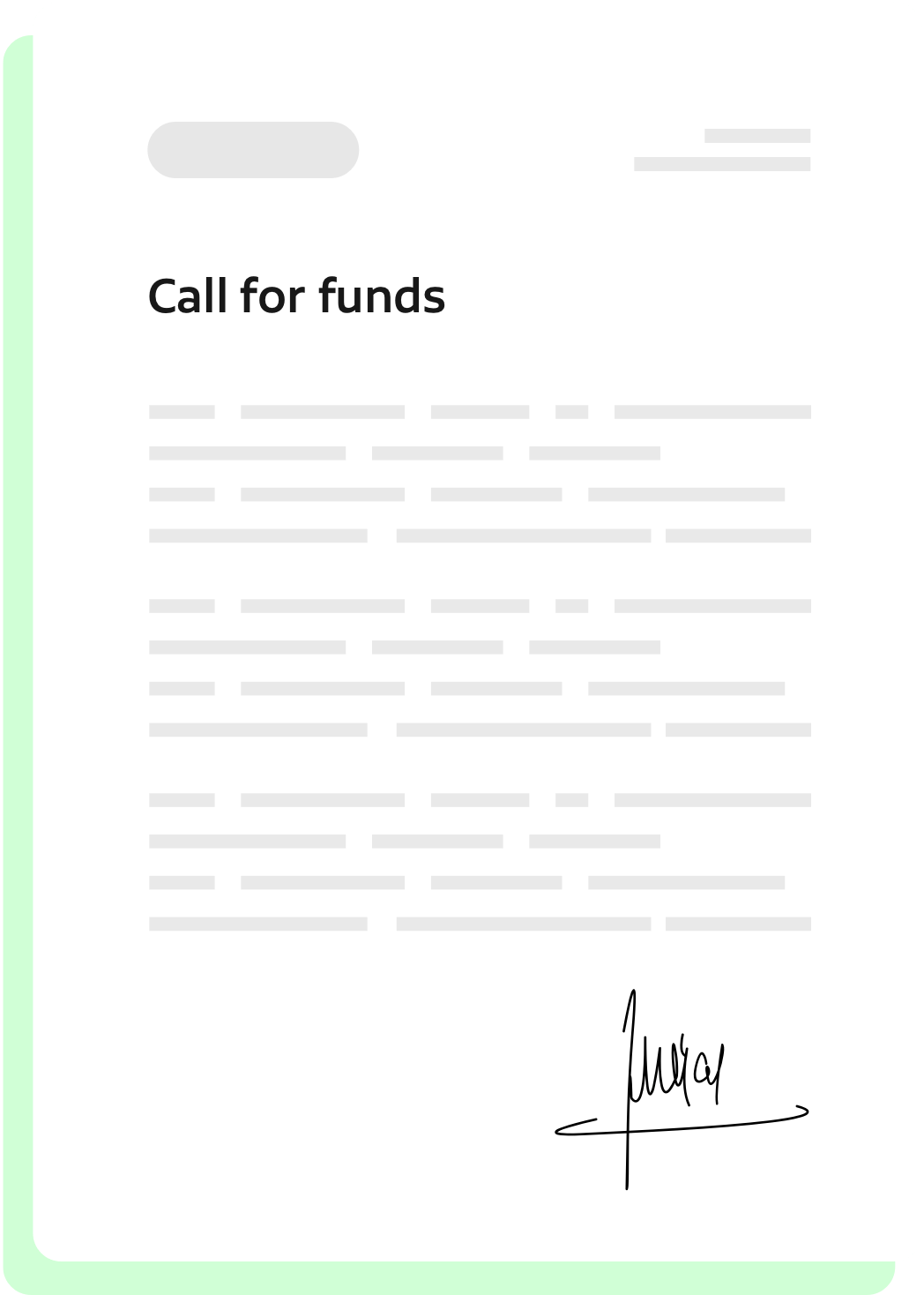 calls for funds