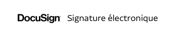 docusign signature electronique du contrat de réservation