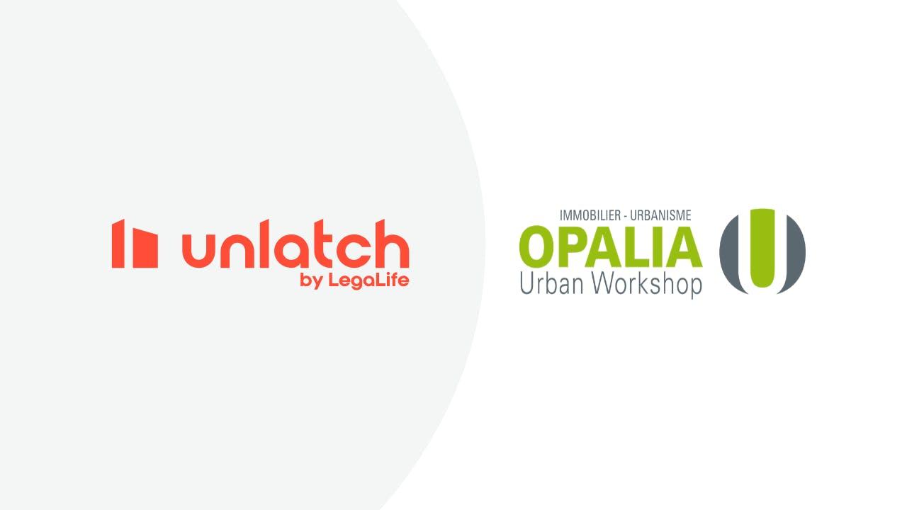 Unlatch x Opalia signature electronique