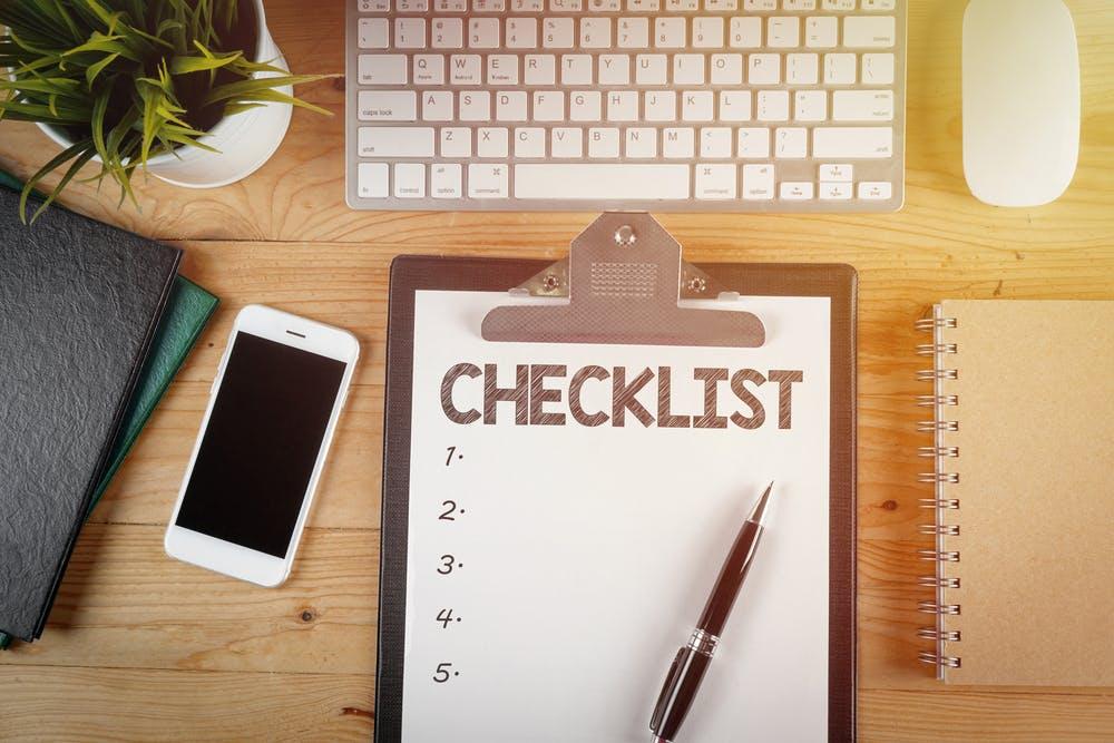 La checklist à suivre avant d'acheter un logement