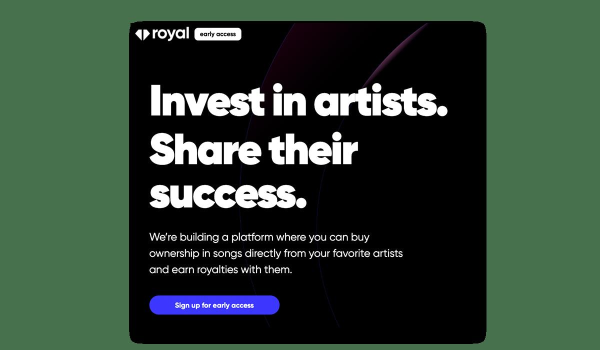 3LAU'S Royal Music Royalty Platform
