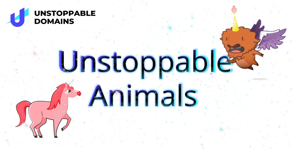 Unstoppable Domains Rare Animals
