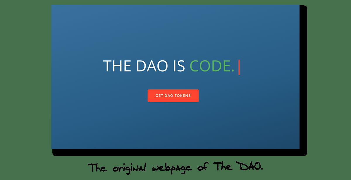 The DAO - Get DAO Tokens