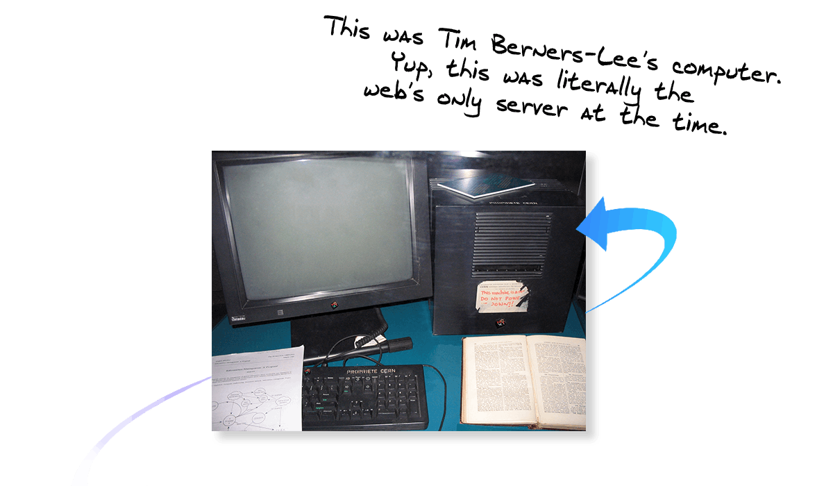 Tim Berners-Lee's Computer