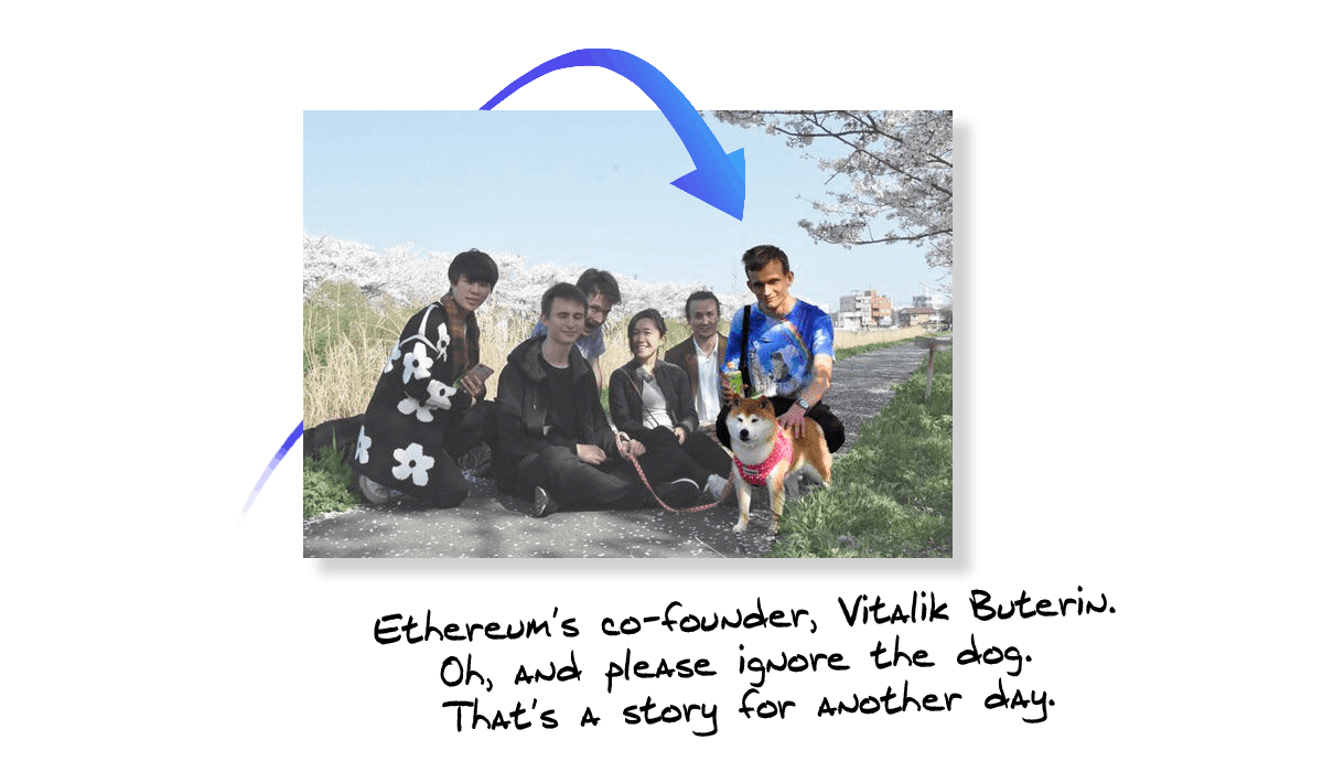 Vitalik Buterin and Doge