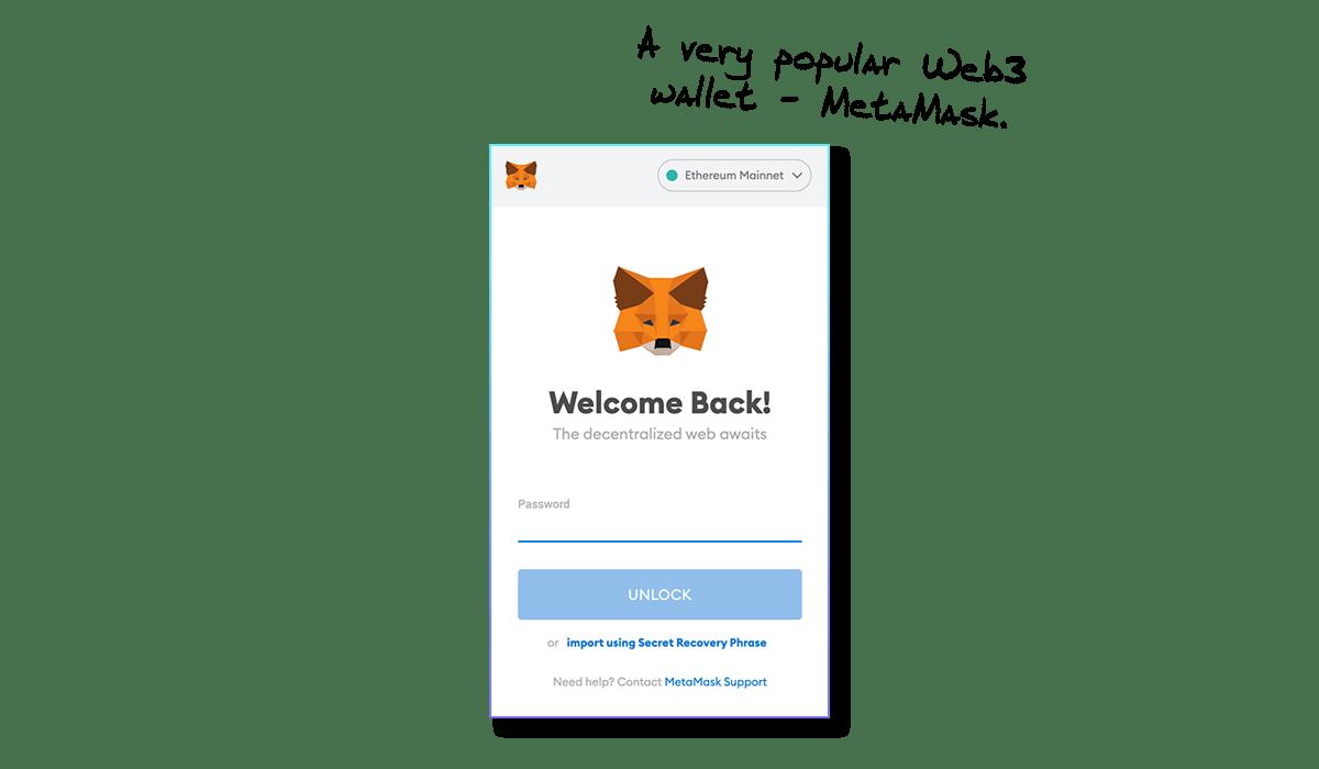 MetaMask Web3 Wallet