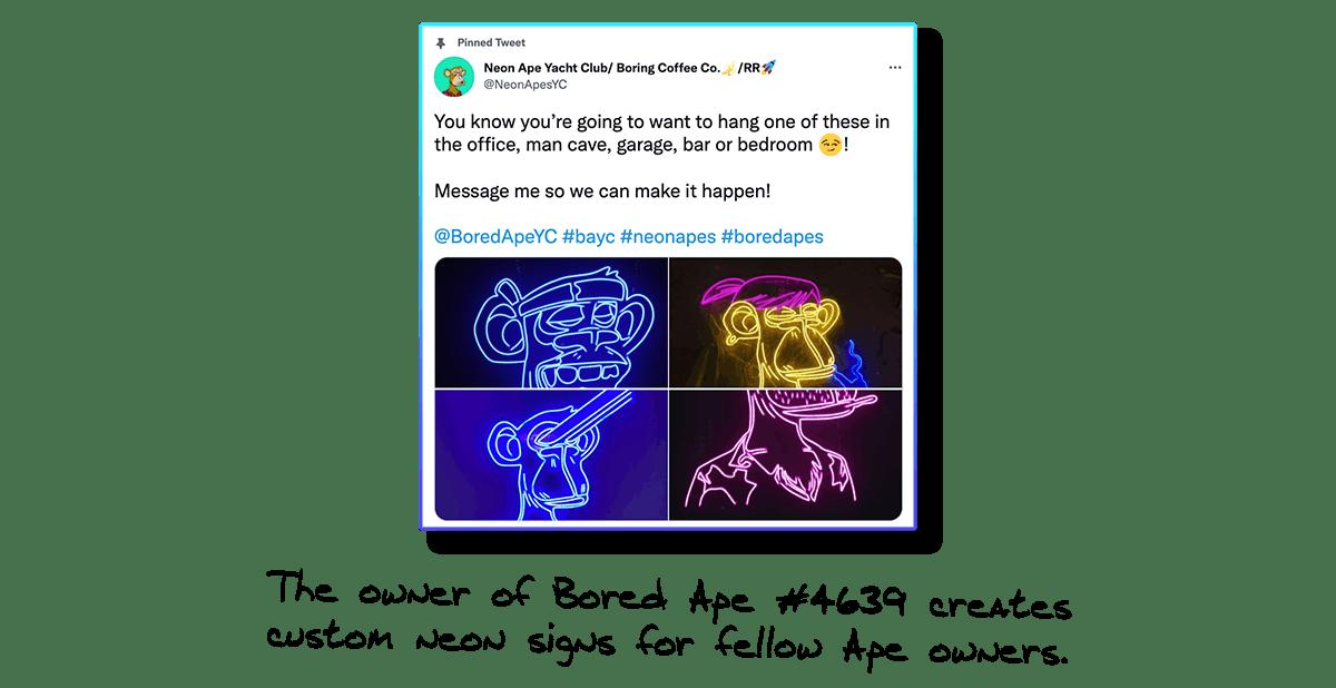 Bored Ape Yacht Club Neon Signs