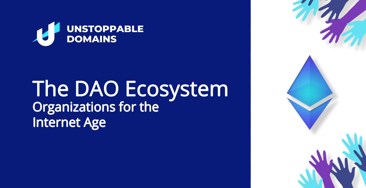 The DAO Ecosystem- Organizations for the Internet Age