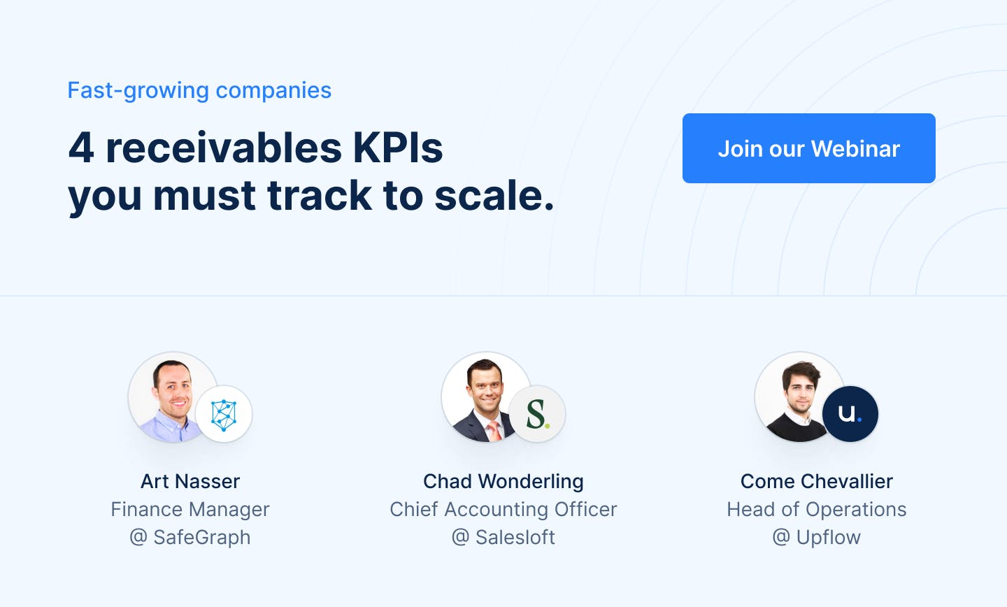 4 receivables KPIs you must track to scale
