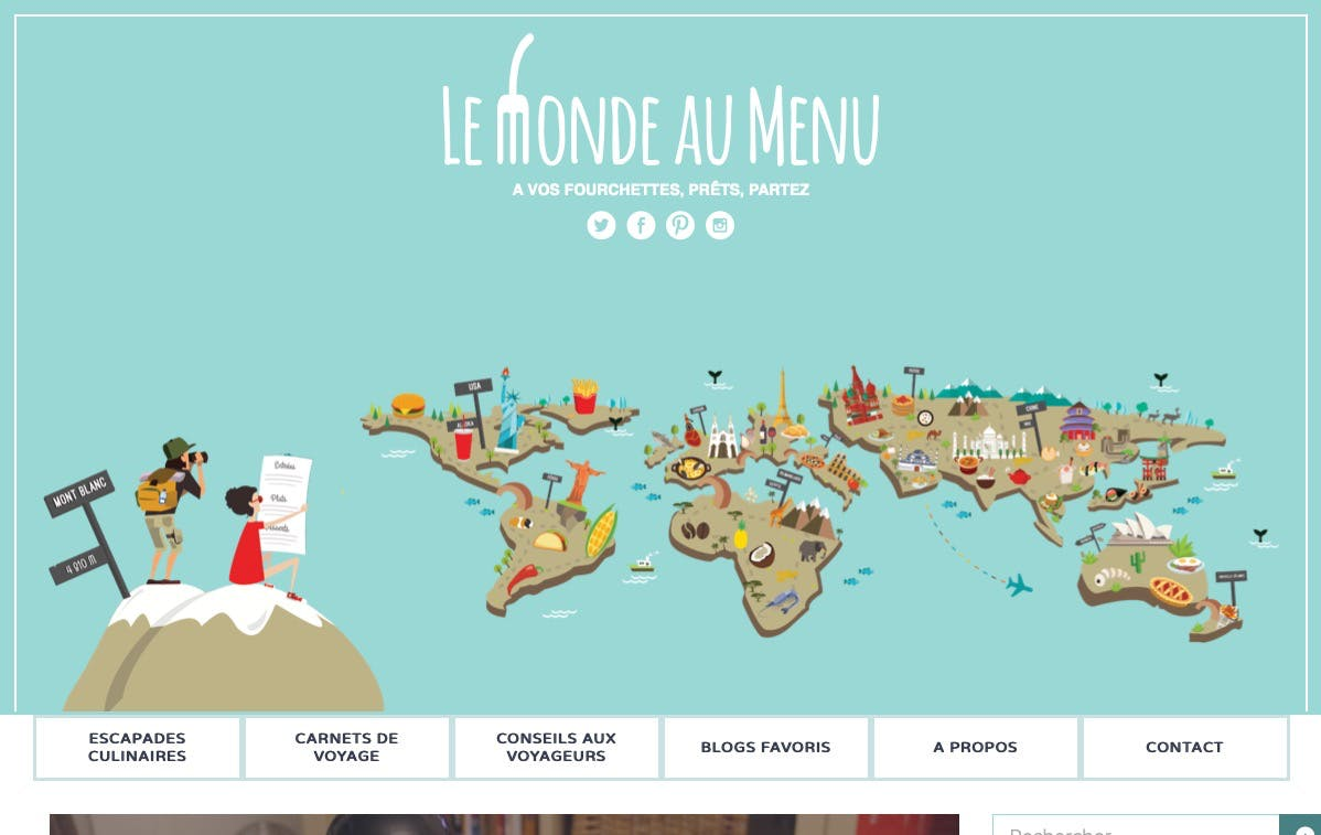 Lemonde Au Menu screenshot
