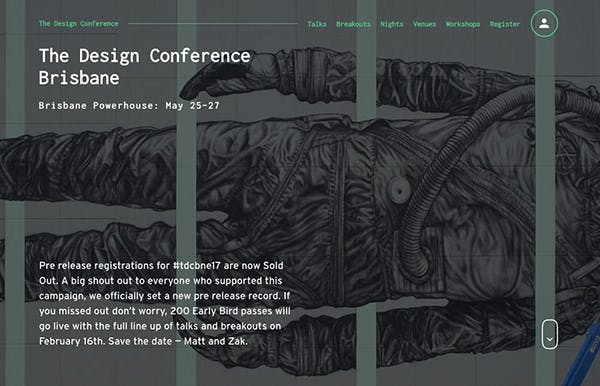 The Design Conference screenshot