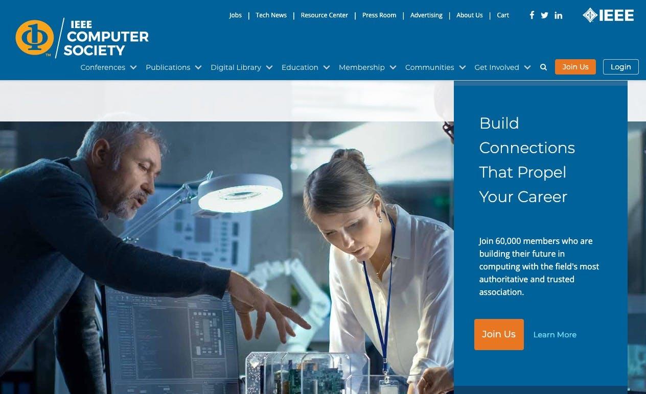IEEE screenshot