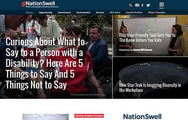 NationSwell screenshot