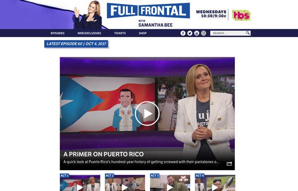 Full Frontal with Samantha Bee screenshot