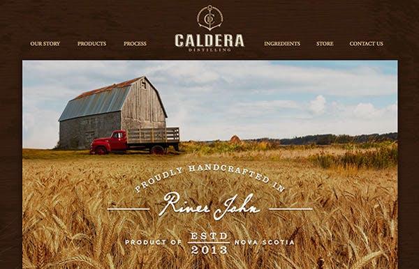 Caldera Distilling screenshot