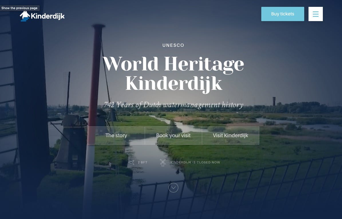 Kinderdijk screenshot