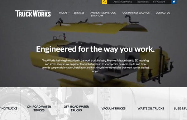 TruckWorks screenshot