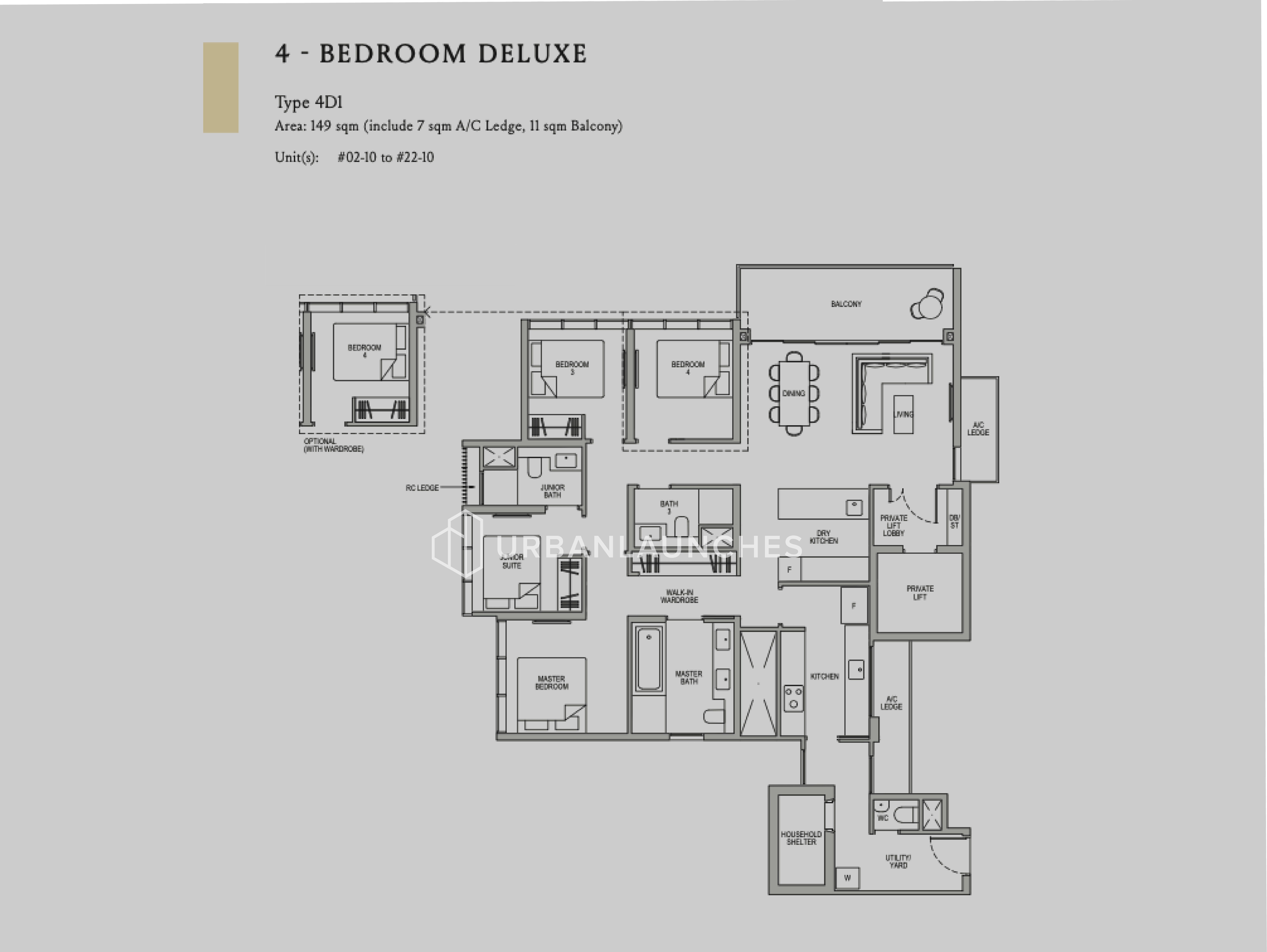 Kopar At Newton - 4 Bedroom Deluxe