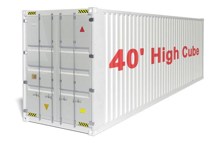 40 high cube