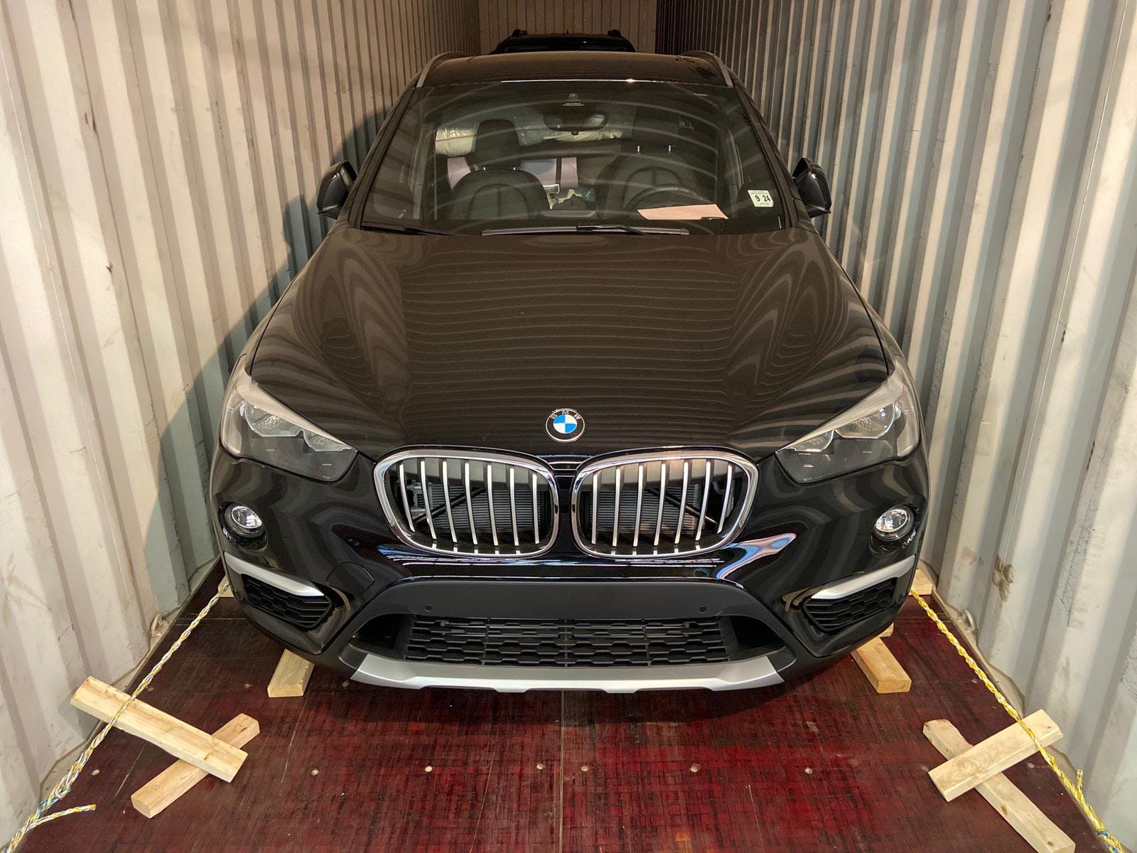 Car in Container