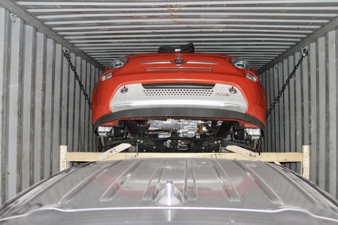 Car Consolidation in Container