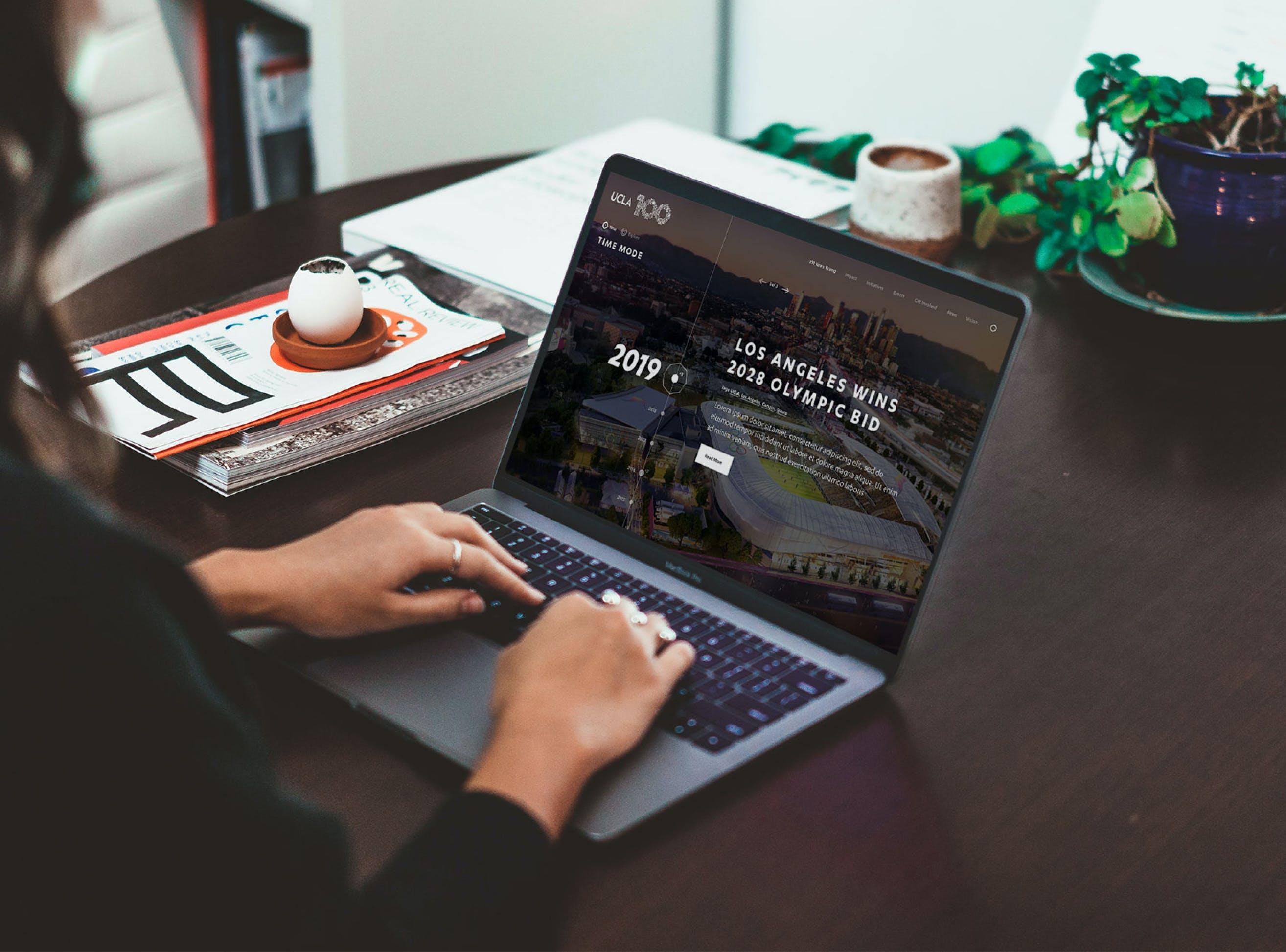 UCLA 100 Homepage