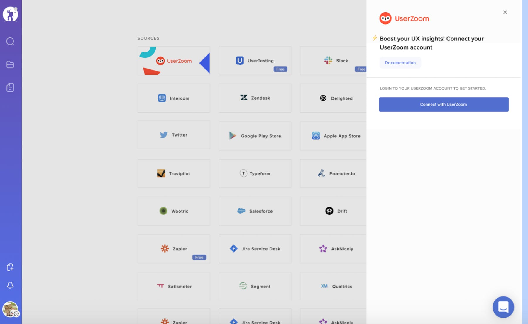 EnjoyHQ Integrations page