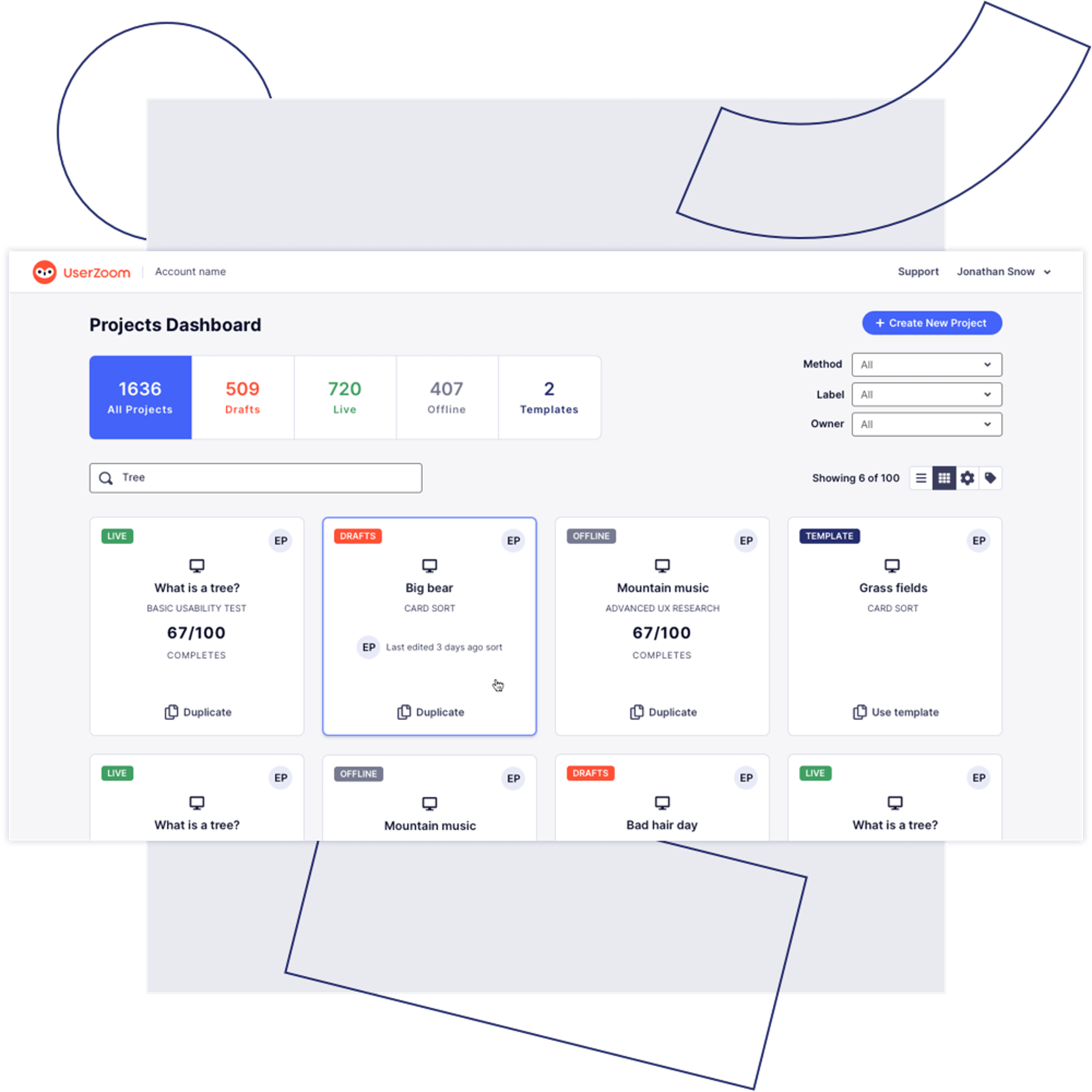 UserZoom's UX testing and user research platform overview