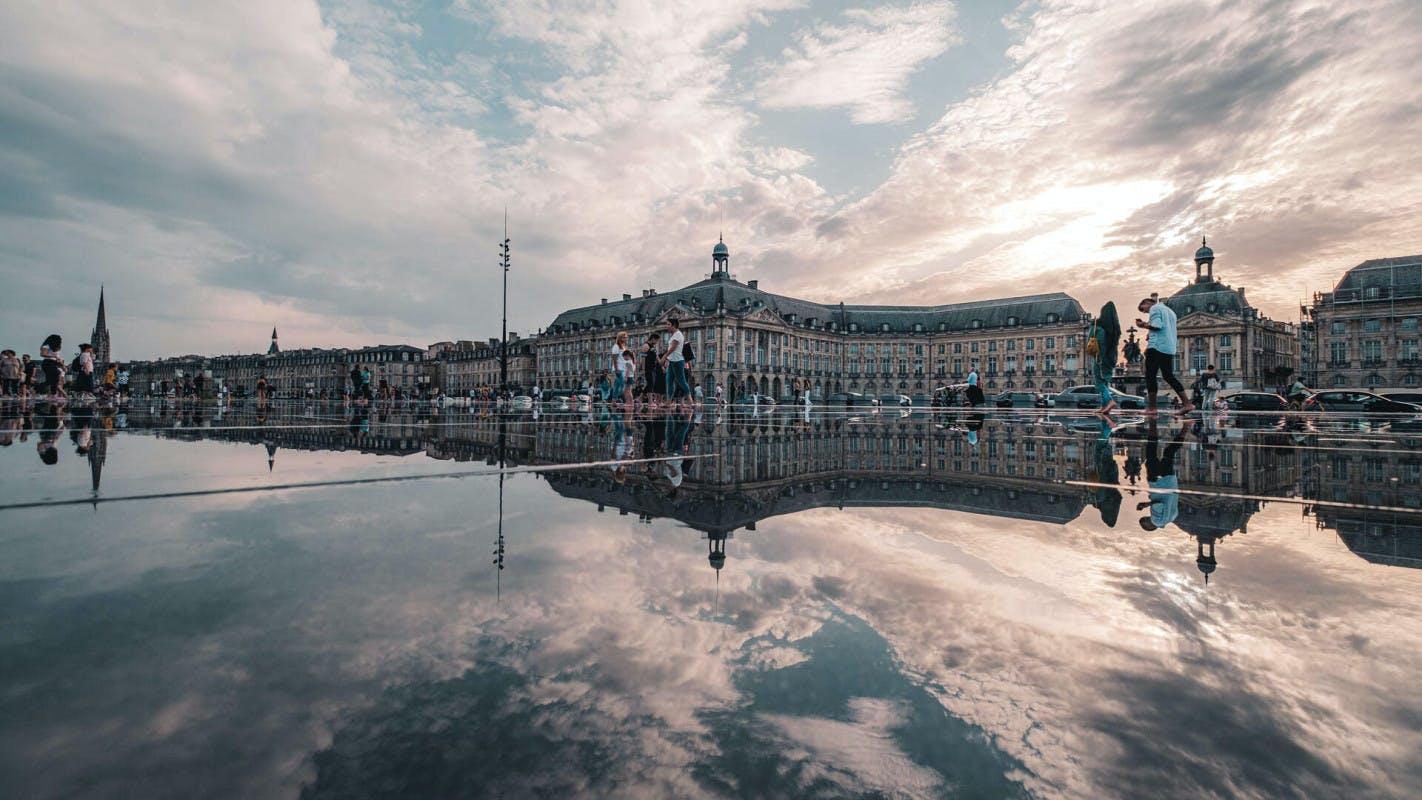 shooting photo Bordeaux, photographe Bordeaux, Miroir d'eau