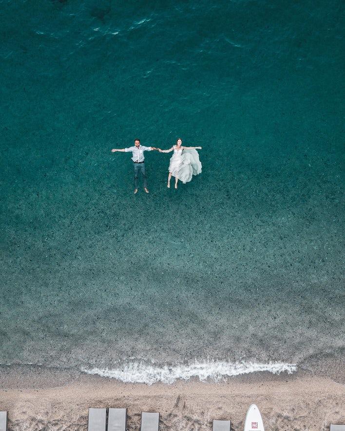 photos mariage drone, tendances photo mariage