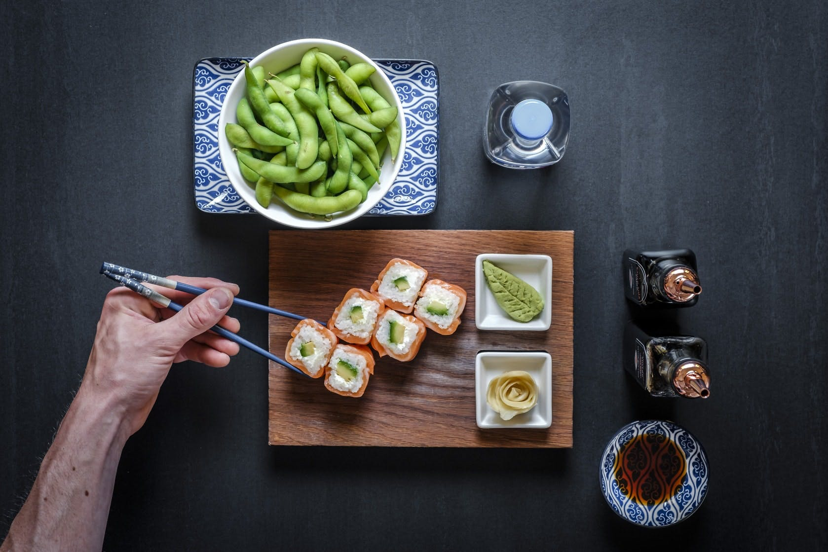 shooting photo culinaire, photographe culinaire, shooting photo sushis