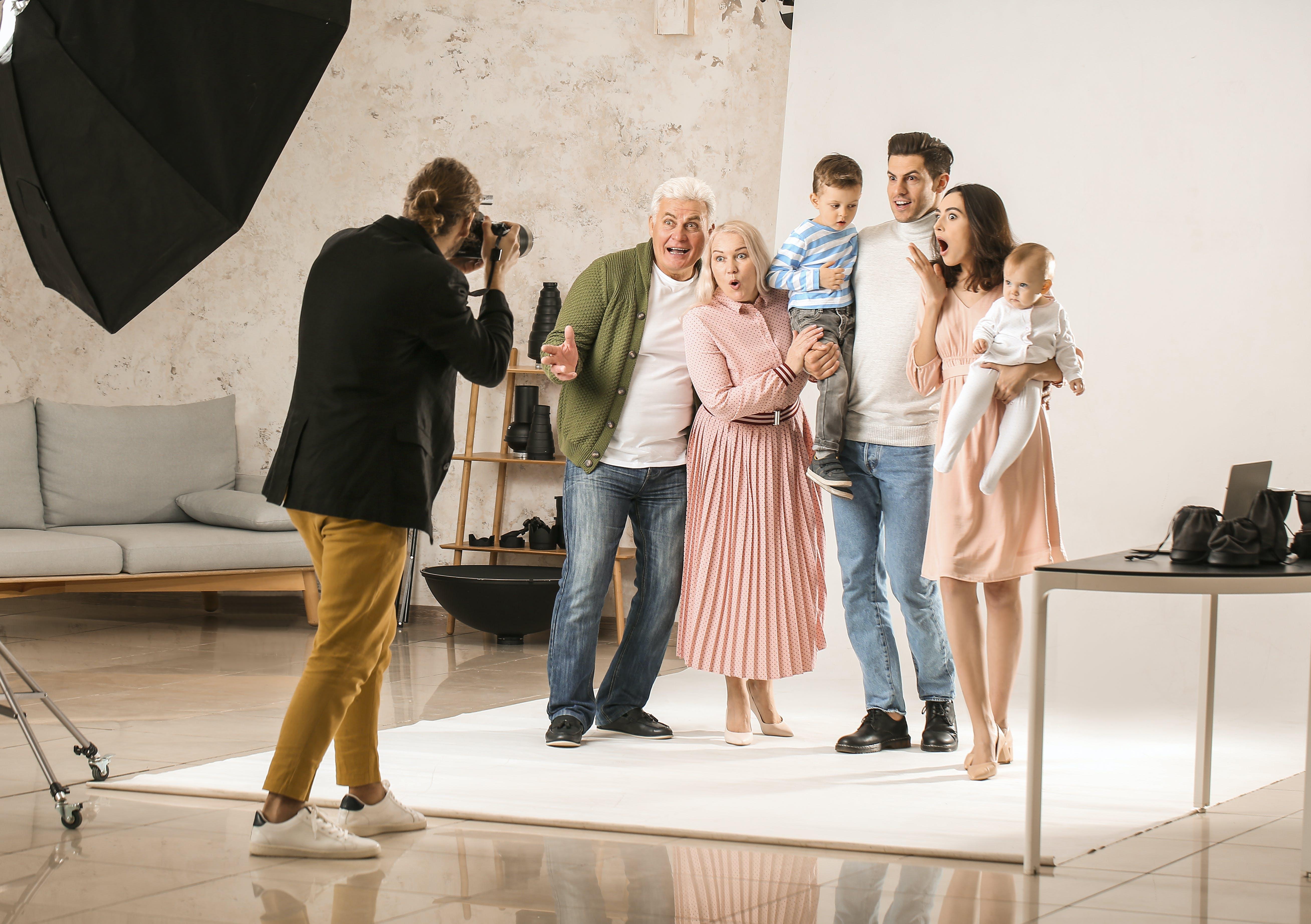shooting photo famille, photographe famille, shooting photo studio