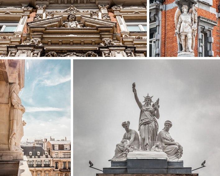sculpture bruxelloises, shooting photo Bruxelles, photographe immobilier à Bruxelles