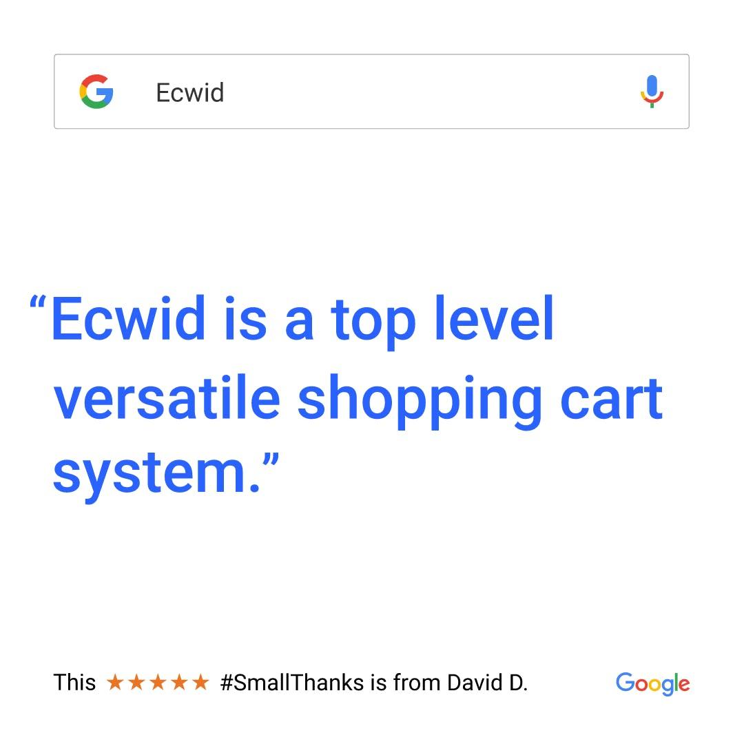 ecwid e commerce, site ecwid, site e commerce