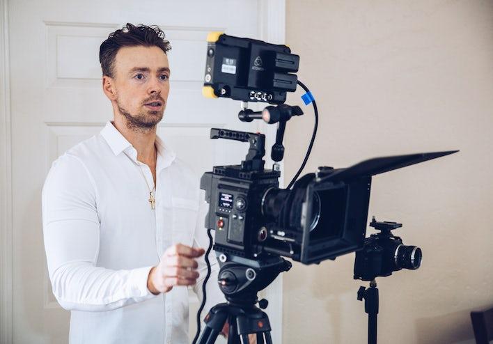 vidéo entreprise, vidéaste