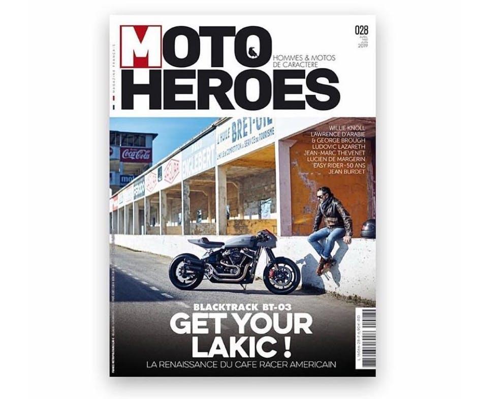 Moto Heroes magazine