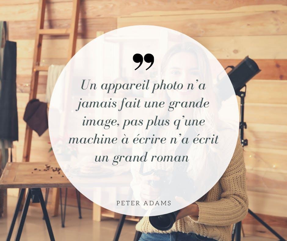 citation photographique