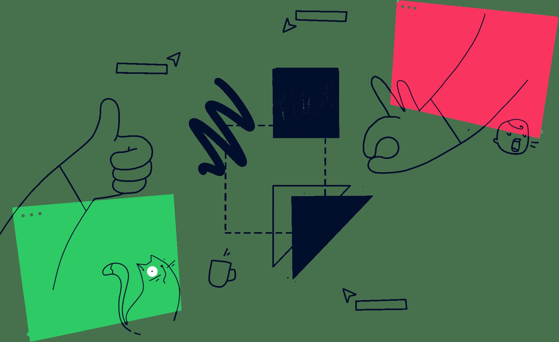 Remote Retrospektiven durchführen mit Miro