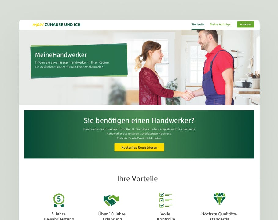 Interface Desktop Provinzial Rheinland