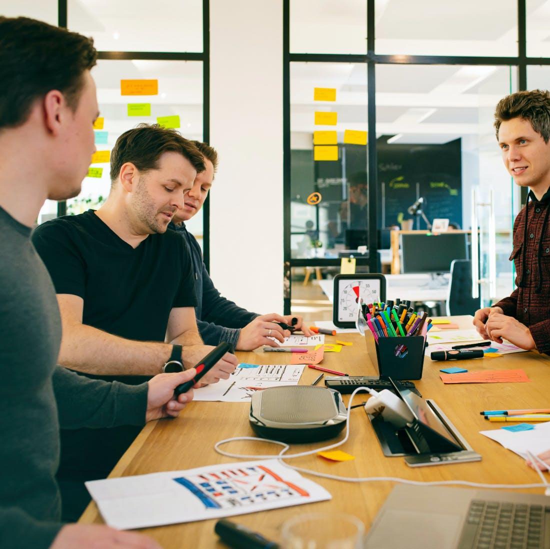 Vision schärfen: erste Phase bei Start-ups