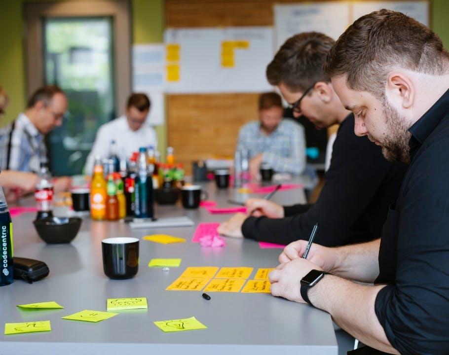 Design Sprint mit Provinzial, codecentric und UX&I